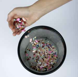 throw away pain pills